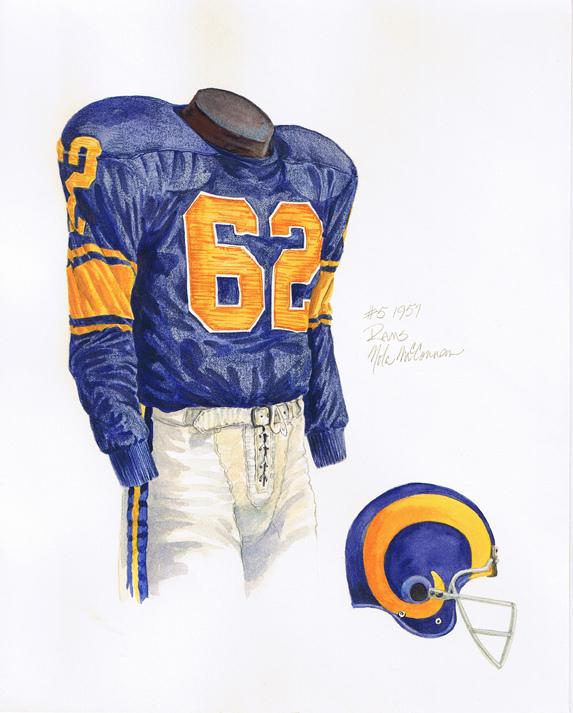 The 1957 uniform.