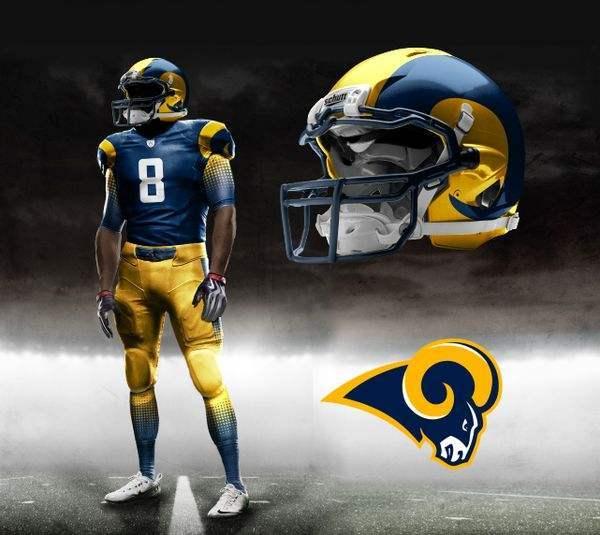 Concept #1: Reverse color scheme on the helmet is new.