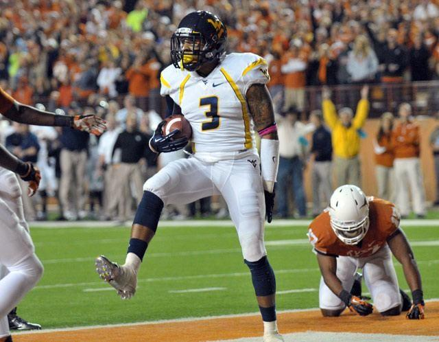 Bailey was college star at West Virginia.