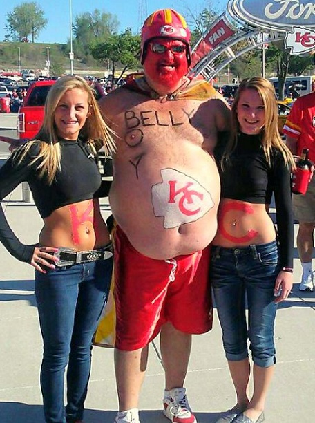 Kansas City Chiefs Fans photo credit: www.americaswhiteboy.com
